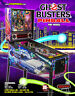 GHOSTBUSTERS Pro Pinball FLYER Original Stern Arcade Game Spooky Ghosts Artwork