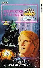 Doctor Who - Resurrection Of The Daleks Peter Davison (VHS/H, 1993)