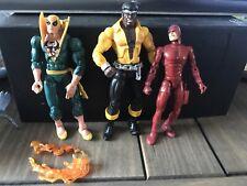Marvel Leyendas Daredevil Luke Cage & Hierro 6 pulgadas figura Lote
