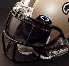 NEW ORLEANS SAINTS NFL Schutt EGOP Football Helmet Facemask/Faceguard (BLACK)