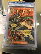 FANTASTIC FOUR #22 2nd MOLE MAN 1964 Sue 1st Invisible Shield KIRBY CGC 4.0