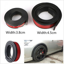 One Pair 4.5cm/1.5M Widening Car Fender Flares Protector Strip Extension Eyebrow