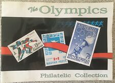1993 They Olympics Philatelic Collection Book & Stamps