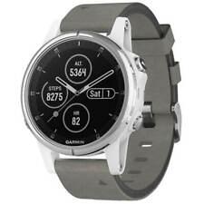Garmin Unisex Reloj inteligente fēnix 5S Plus EcoTread GPS Correa Gris 010-01987-04