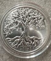 Tree of Life 1 oz. 999 Silver Coin 2019 2 dollar Niue Judah Jesus John 14:6