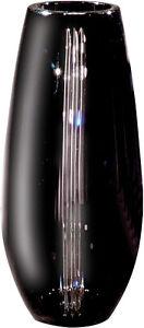 Dale Tiffany GA80057 Black line Decorative Crystal Vase 6-1/2-Inch by 12-Inch