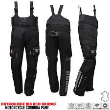 Motorbike Motorcycle Codura Textile Inner Lining Bib & Brace Dungaree Trouser