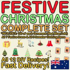 Festive Christmas Complete DIY Recipe Set 🎄Animal:Crossing New Horizons 🎄