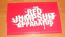 The Red Jumpsuit Apparatus Sticker 2-Sided Original Promo 4x3