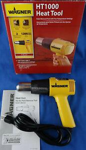 Wagner HT1000 Heat Gun, 2 Temp Settings 750ᵒF & 1000ᵒF