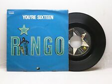 RINGO STARR YOU'RE SIXTEEN - DEVIL WOMAN APPLE 3C006-05530 OTTIMO