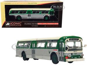BoxDamage FLXIBLE 53102 TRANSIT BUS CTA CHICAGO, IL 1/87 ICONIC REPLICAS 87-0241