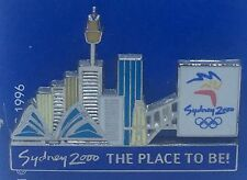 Sydney 2000 Olympic Games Badge Pin - The Place To Be