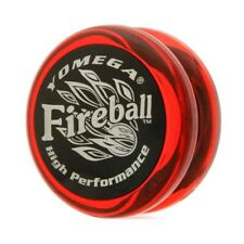 [WINTER SALE] Yomega Fireball Yo-Yo - Clear Red / Black Cap + STRINGS