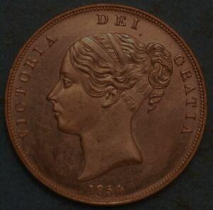 Great Britain Penny 1854 Victoria Queen KM# 739 1560