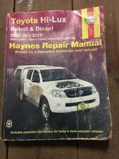 Toyota Hilux 2x4 + 4wd Ute 2005-2011,Haynes Repair Manual