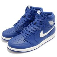 Nike Air Jordan 1 Retro High OG I AJ1 Hyper Royal Sail Men Shoes 555088-401