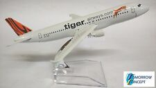 16cm 1 230 Tiger Airway A320 Airplane Aeroplane Diecast Metal Plane Toy Model