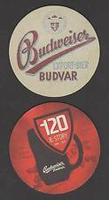 Bierdeckel -Coaster , Tschechien , Budweiser 2015 , Budvar ,Export-Bier