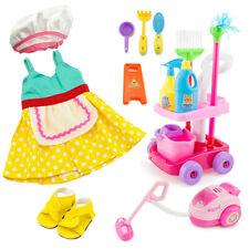 """For American Girl 18"""" Inch Dolls Clothes Housekeeping Cleaning Accessories Set"""