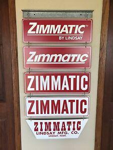 Zimmatic by Lindsay, Pivot, Collector, Lindsay, Nebraska, Sign