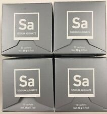 Molecule-R Sodium Alginate Sa .7oz 40 packs 4 Box Lot Molecular Gastronomy