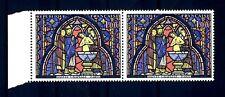 FRANCE - FRANCIA - 1966 - Vitrail de la Sainte-Chapelle Baptême de Judas MNH (G)