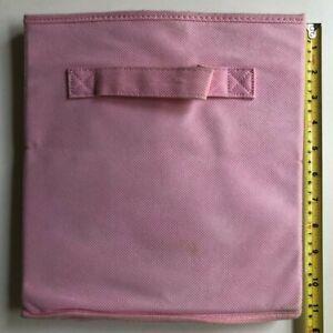 Pink Foldable Cube Storage Folding Box Cube Organizer Drawer GUC