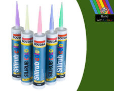 Grass Green Colour Silicone Sealant Soudal 310ml RAL 6010 Indoor & Outdoor use