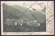 LECCO PERLEDO 12 Frazione BOLOGNA Cartolina viaggiata 1923