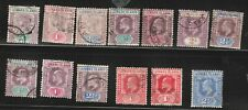 Leeward Islands, Qv, Ke & Kgv. Sc#1-3,20-3,29-30,45. Scv$22. Nice