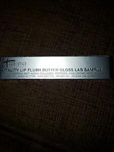 It Cosmetics Vitality Lip Flush Butter Gloss Lab Sample