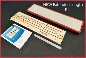 NEW Longer Flat-Top Barge Kit-Laserply+Resin Bollards 730x180mm R/C Instructions