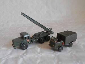 solido army series unic saharan rocket launcher and renault 4x4 truck to restore