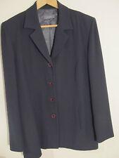 Jacqui E Suit Ladies Size 12 Corporate Office Grey Suit