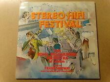 """2 X LP 12"""" / STEREO HIFI FESTIVAL - FRANK SHIPWAY (FIDELIO)"""