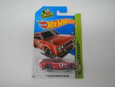 Hot Wheels HW Workshop '71 Datsun Bluebird 510 Wagon Red