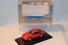 . MINICHAMPS PORSCHE 911 COUPE 1993 RED MINT BOXED