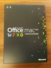 Microsoft MAC Office 2011 Home and Business  Vollversion /DVD /english W6F-00063