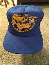Ford Cleveland Engine Plant No 1 Baseball Hat, Exlporer 5.OL, One Size, USA