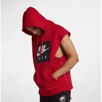 SZ LARGE Nike Air Retro Sleeveless Hoodie Men's Sweatshirt Loose Fit 928645-687