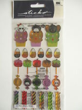 STICKO DIMENSIONAL STICKERS - GOT CANDY Halloween sweets