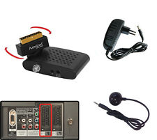 Mini Digital Sat Receiver Scart Kartenleser DVB-S satelliten Camping 12V 230V