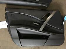 BMW 5er Touring E61 Türverkleidung Leder Dakota Schwarz Vorne Links