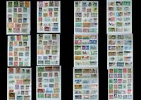 Stamp Collection From Portugal & United States, Free Shipping Worldwide