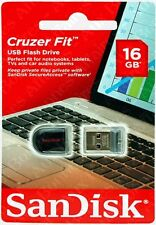 SanDisk Cruzer Fit 16 Go USB 2.0 Lecteur Flash (SDCZ33-016G-B35)