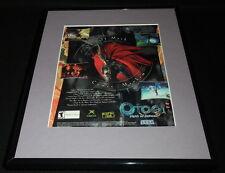 Otogi Myth of Demons 2003 PS2 XBox Framed 11x14 ORIGINAL Vintage Advertisement B