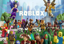 P891 Roblox Classic Video Game Cartoon Comic Series Poster Art Decor