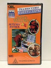 WIND IN THE WILLOWS ~ AUTUMN ANTICS ~ RARE THAMES VHS VIDEO