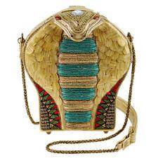 Mary Frances Mesmerize Snake Cobra Gold Jasmine Bag Disney Aladdin Handbag NEW